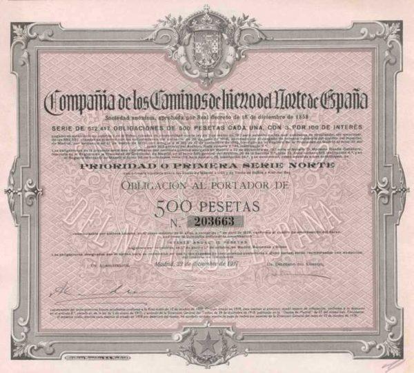 Compañia de los Caminos de Hierro del Norte de España SA