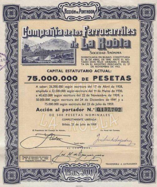 Compañia de los Ferrocarriles de La Robla SA