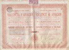 Compañía de los Ferrocarriles de Valencia y Aragón