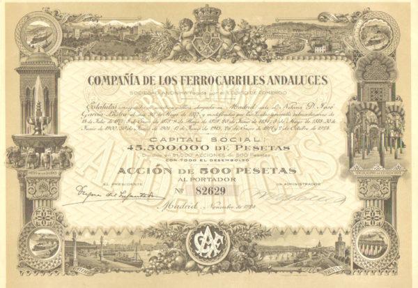 Compañia de los Ferrocarriles Andaluces