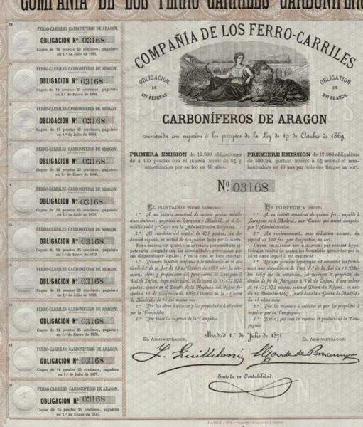 Compañía de los Ferrocarriles Carboniferos de Aragón
