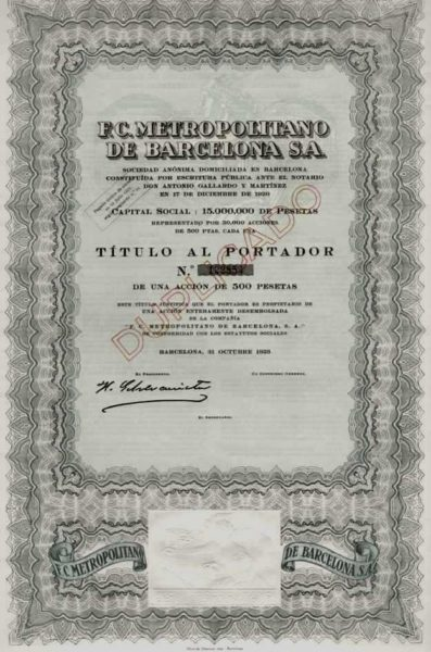 Ferrocarril metropolitano de Barcelona