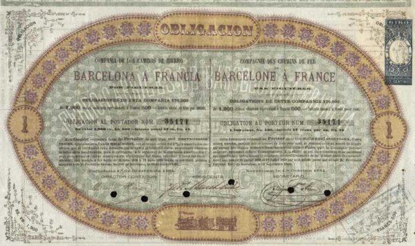 Compañía de los Caminos de Hierro de Barcelona a Francia