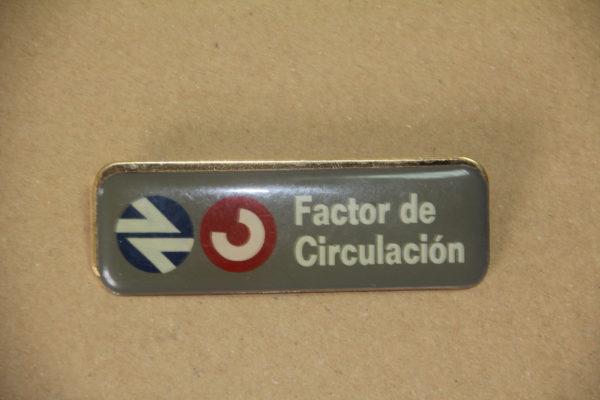 Identificación Factor de Circulación de Cercanias