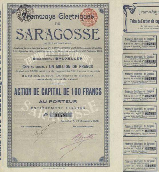 Tramways Electriques de Saragosse